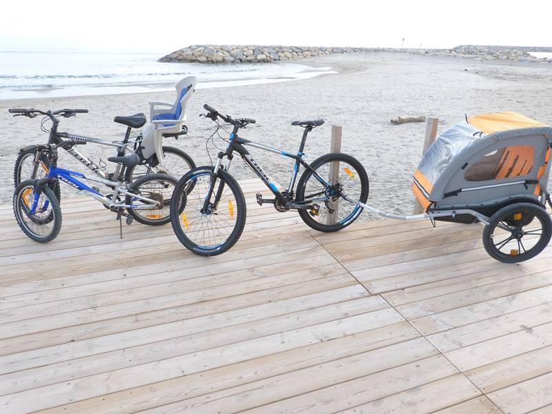 Location vélos en famille